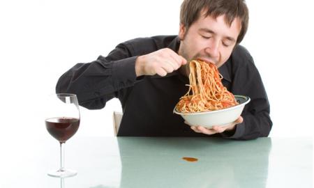 با سرعت غذا خوردن