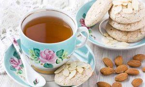 چای بادام شیرین