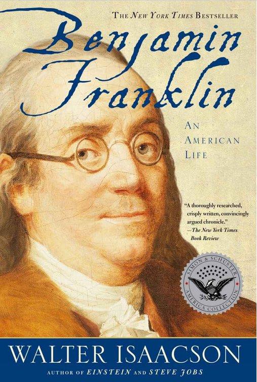 "کتاب ""Benjamin Franklin: An American Life"" (""بنجامین فرانکلین: زندگی آمریکایی"") اثر Walter Isaacson"