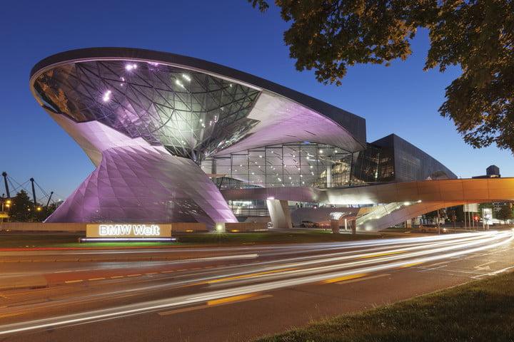 ساختمان شعبه مرکزی BMW