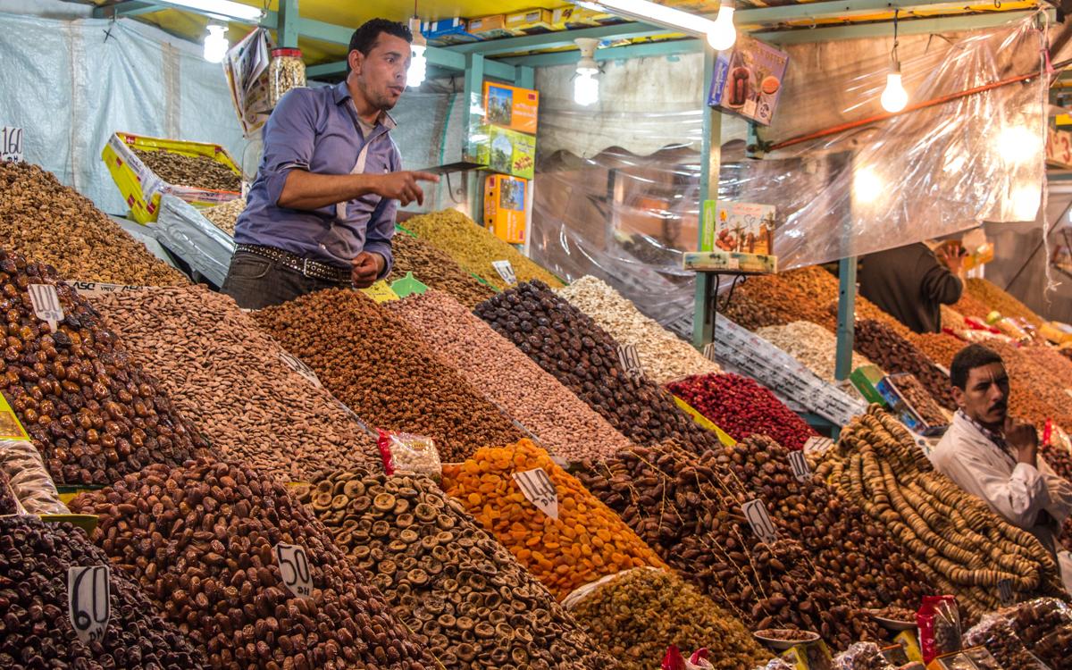 بازار دیدنی «جامع الفنا» در مراکش؛ چیزی که ما از ۱۰۰۰ سال خرید و فروش بدست آورده ایم!