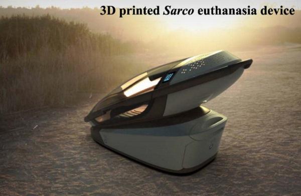 """""""سارکو"""" (Sarco) یا همان ماشین مرگ"""