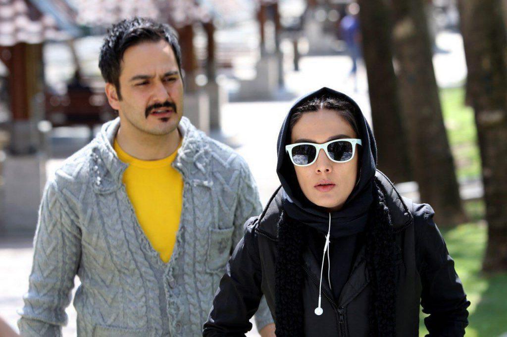 هنرنمایی میلاد کی مرام و لیلا زارع در فیلم غیر مجاز
