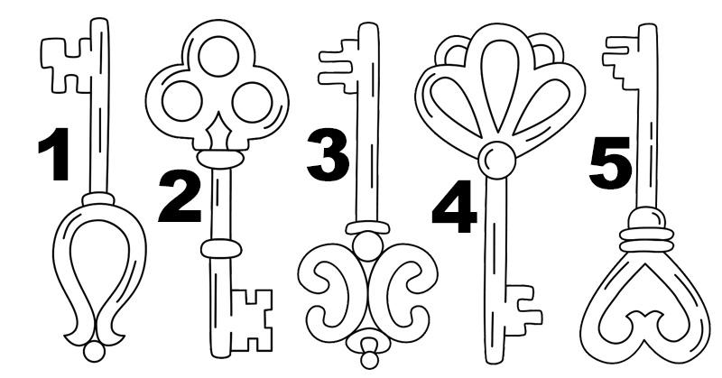 در این تست شخصیت یک کلید را انتخاب کنید تا قدرت واقعی دورن تان را بشناسید