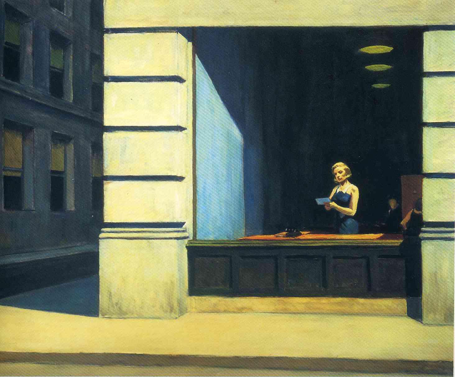 اداره ای در نیویورک ۱۹۶۲ - ادوارد هاپر