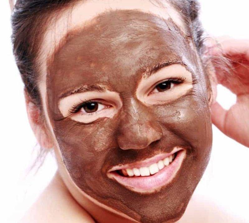 ماسک شکلات برای پوست صورت