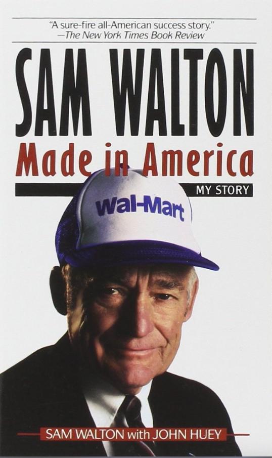 """کتاب """"Sam Walton: Made in America"""" (سام والتون: ساخته شده در امریکا) اثر Sam Walton"""