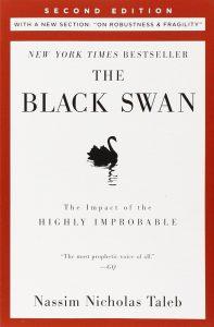 """کتاب The Black Swan (قوی سیاه)"""" اثر Nassim Taleb"""