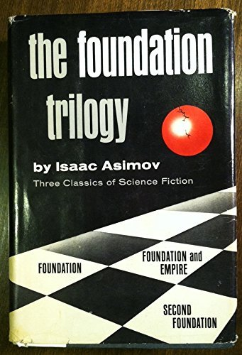 """کتاب The """"Foundation"""" trilogy (سه گانه """"بنیاد"""" ) اثر Isaac Asimov"""