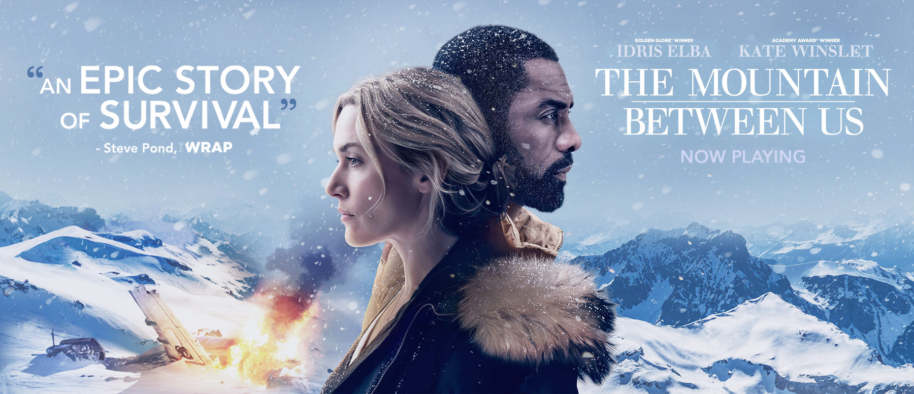 تحلیل فیلم The Mountain Between Us