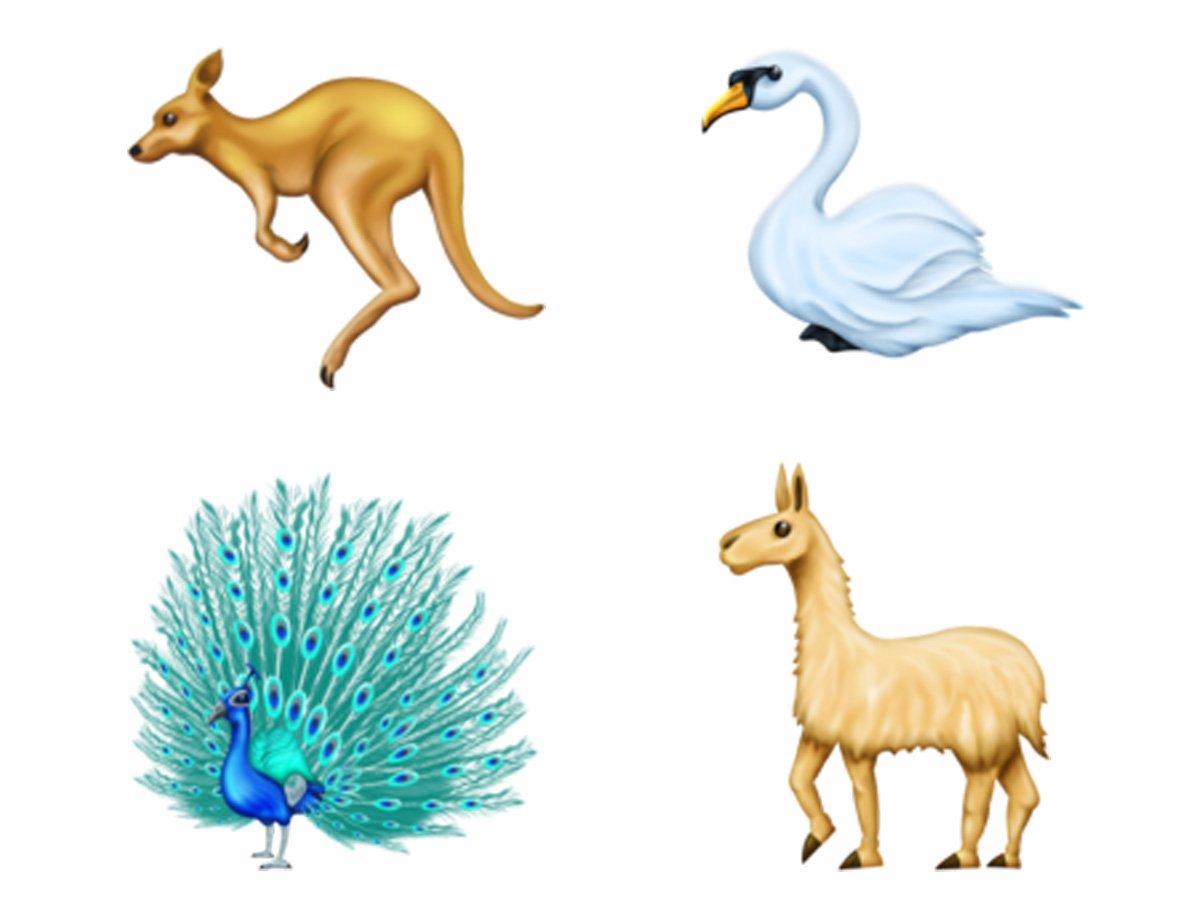 ایموجی حیوان های جدید