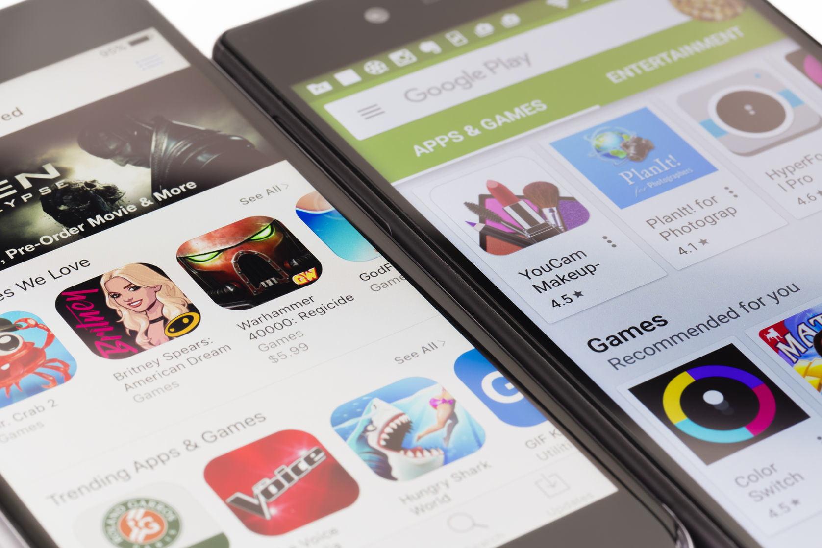 در سه ماه گذشته ۱۹ میلیارد اپلیکیشن از Google Play دانلود شده است