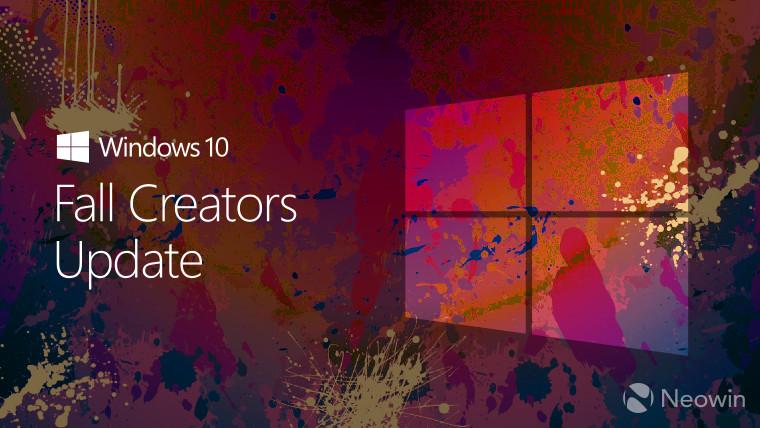 هم اکنون آپدیت Fall Creators ویندوز 10 در دسترس همه کاربران است