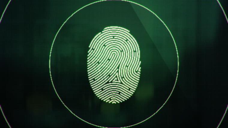 اسکنر اثر انگشت زیر صفحه نمایش