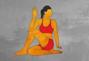 حرکت یوگا برای درمان طبیعی یبوست