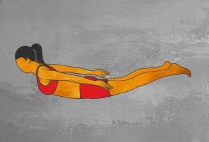 آسانای یوگا برای درمان طبیعی یبوست