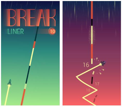 بازی اندرویدی Break Liner