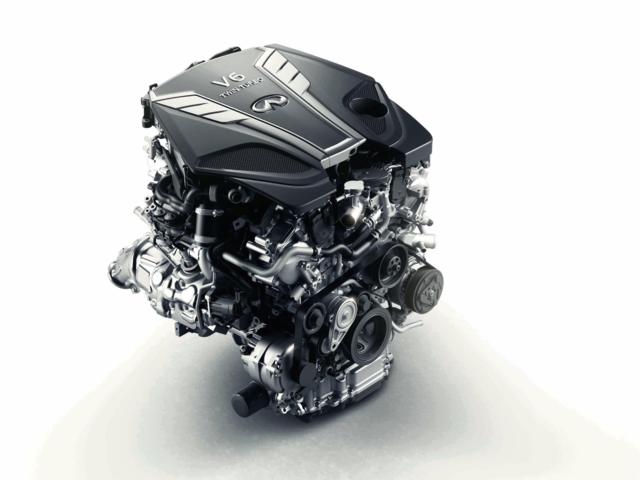 این موتور Q50 را قادر می سازد در کمتر از ۵ ثانیه به ۱۰۰ کیلومتربرساعت برساند که به عنوان یک سدان سنگین وزن قابل توجه است.