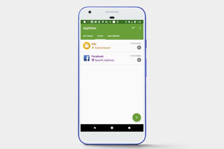 با این اپ شما میتوانیدبه راحتی مقرراتی برای محدود کردن دسترسی به برنامههای موبایل خود ایجاد کنید و اعتیاد به گوشی را ترک کنید.