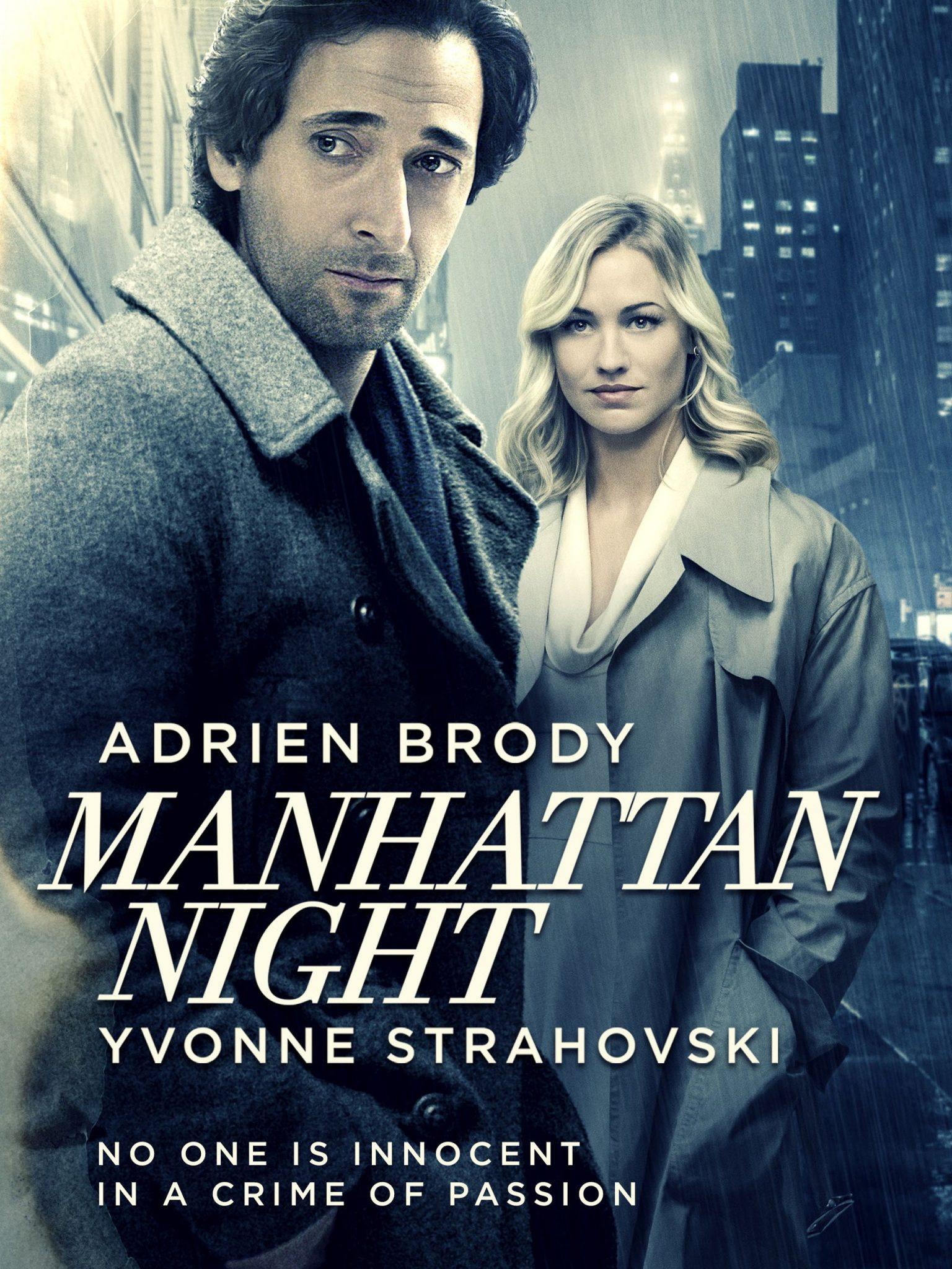 پوستر فیلم Manhattan Night کاری از برایان دیکابلیس
