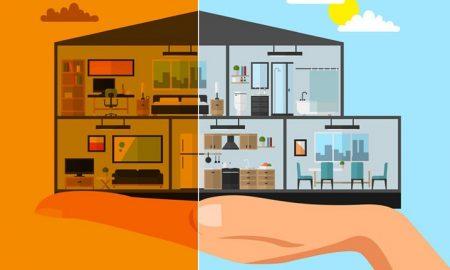 از بین بردن آلودگی هوای خانه