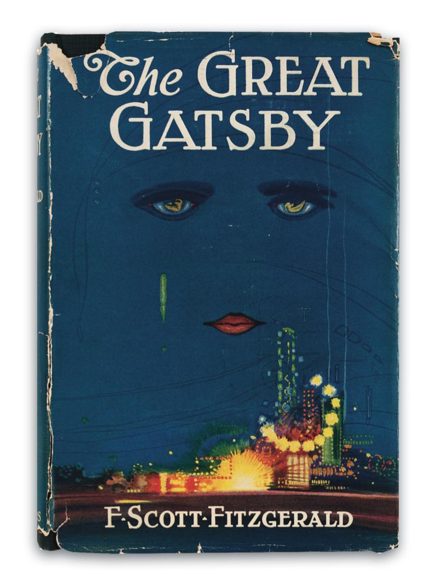 رمان گتسبی بزرگThe Great Gatsby نام اثر مطرح و مشهوری از اسکات فیتز جرالدF. Scott Fitzgerald نویسنده آمریکایی است