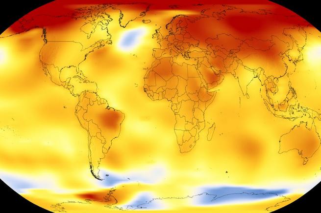 گرم ترین سال 2017