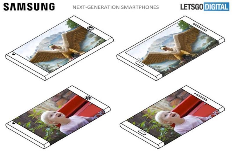 پیش بینی صفحه نمایش Galaxy S10