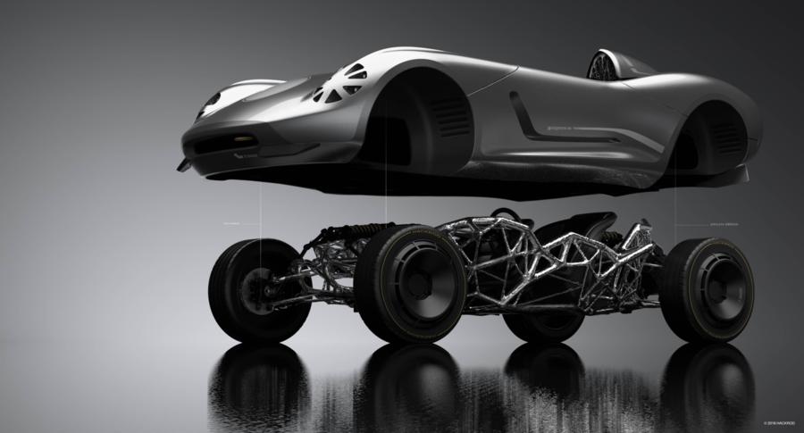 خودروهای آینده؛ طراحی خودروهای سفارشی به سلیقه مشتری به کمک فناوری چاپ سه بعدی!!
