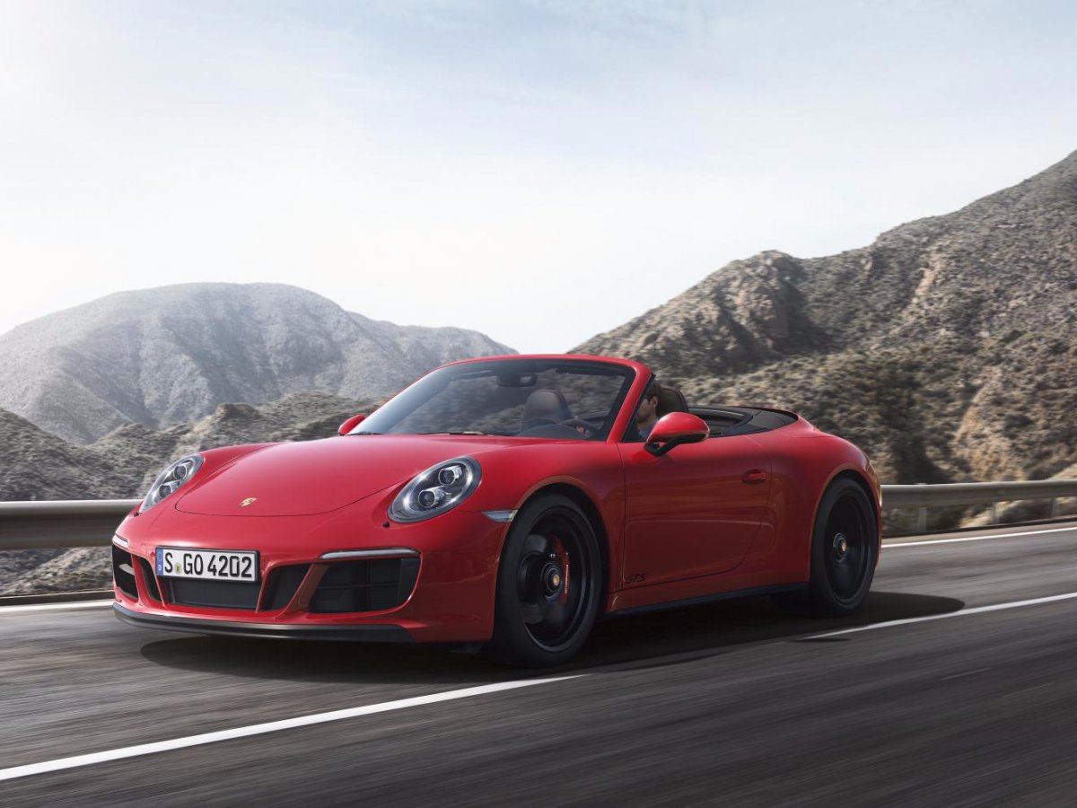 پورشه 911 Carrera 4 GTS و GTS با چهار چرخ محرک