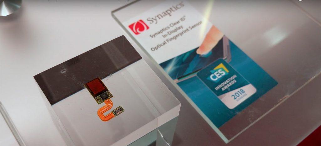 نمونه باز شده سنسور اثر انگشت زیر صفحه نمایش توسط Vivo