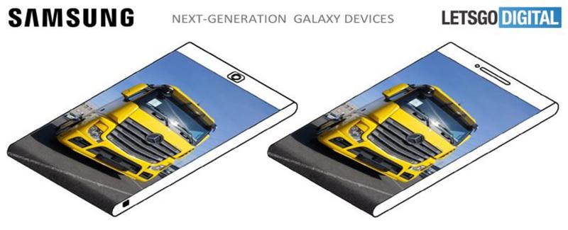 صفحه نمایش نسل های آتی Galaxy