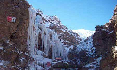 راهنمای سفر به آبشار یخی آبنیک