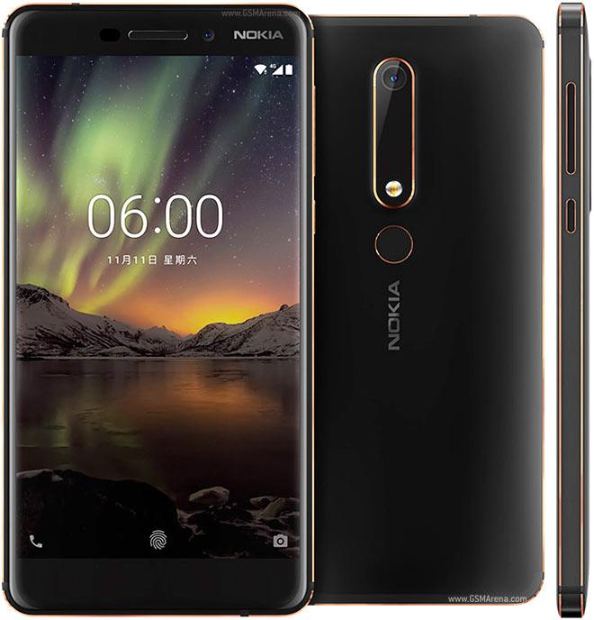 خطوط برجسته در طراحی نوکیا 6 جدید یا 2018 جلوه زیبای یه این گوشی میان رده داده است.