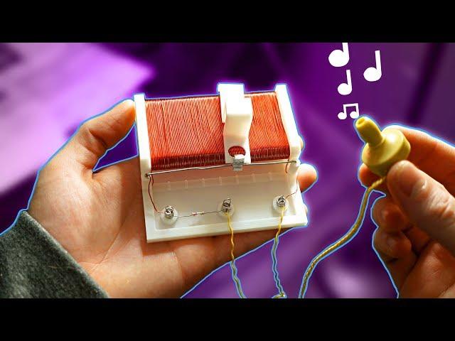 رادیو با چاپ سه بعدی ساخته شده