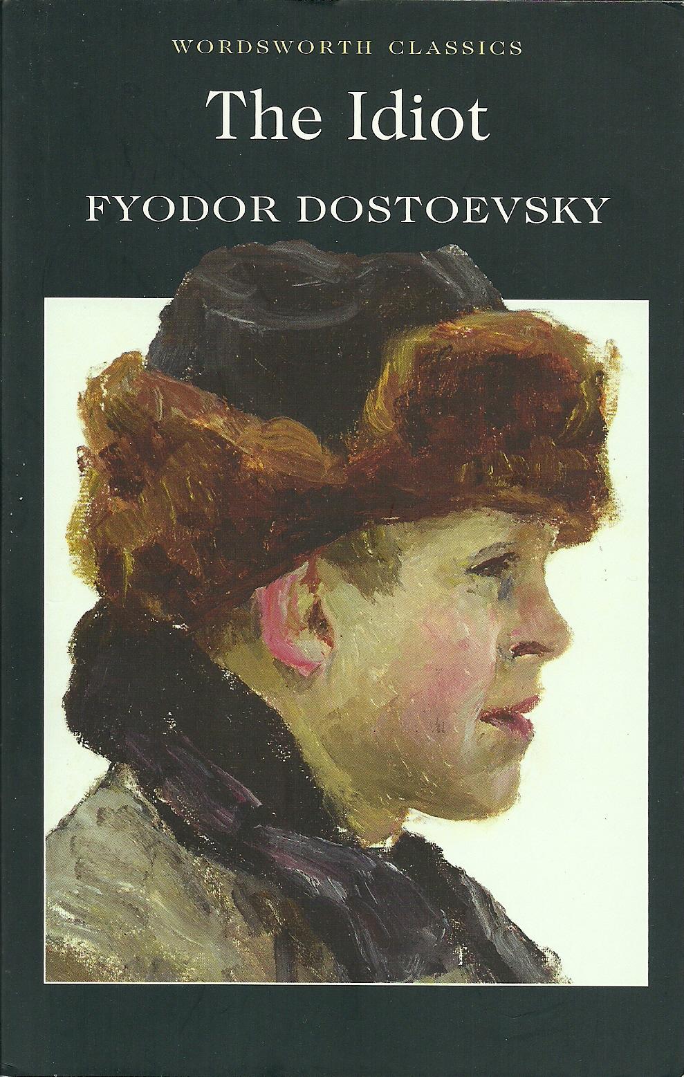 طرح جلد رمان ابله The Idiot اثر ماندگار فئودور داستایفسکی