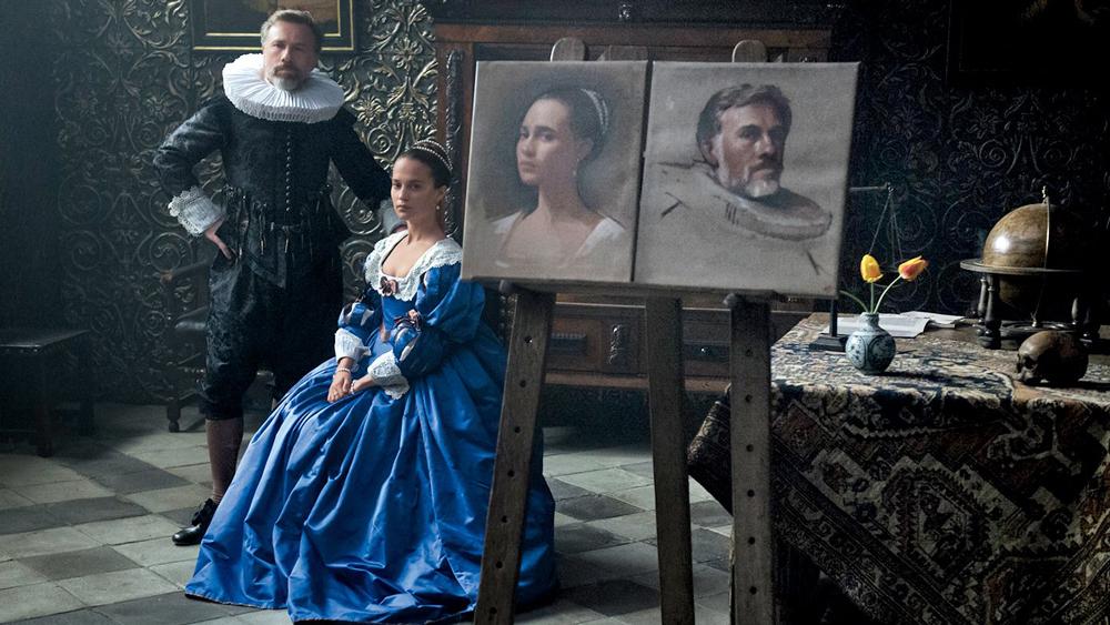 هنرنمایی Christoph Waltz و Alicia Vikander در فیلم Tulip Fever