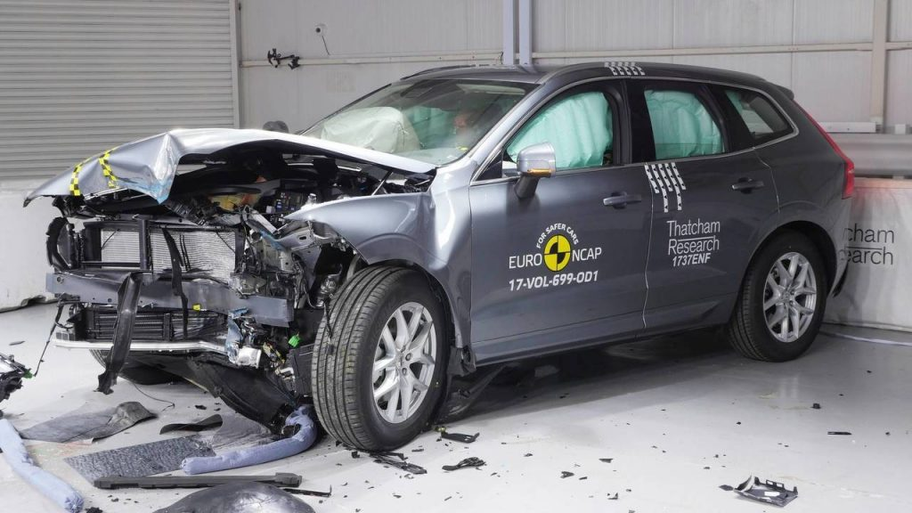 ولوو XC60 امن ترین خودرو سال ۲۰۱۷ از نگاه Euro NCAP