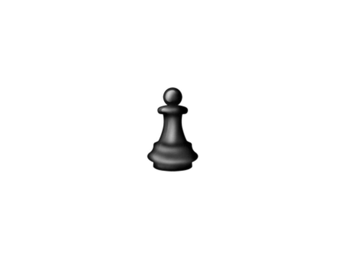 مهره سیاه شطرنج Black chess piece