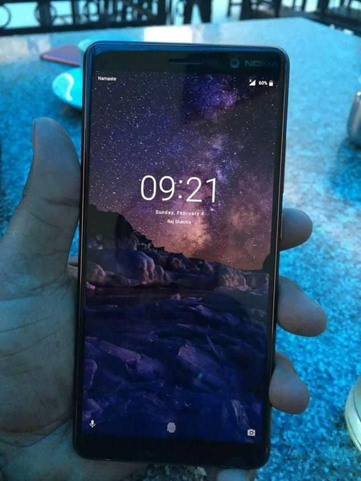 عکسی از Nokia 7+ قبل از MWC 2018