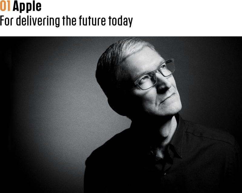 اپل نوآورانه ترین کمپانی جهان نام گرفت
