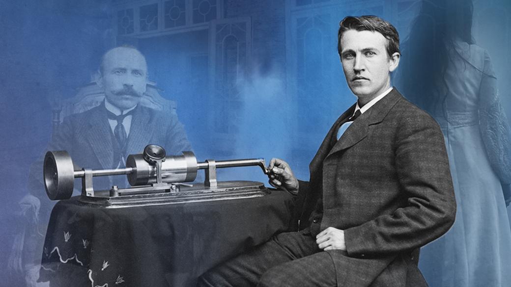 اختراع تلفن ارتباط با مردگان توسط ادیسون