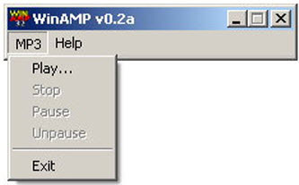 به سادگی موزیک پلیر نوستالژیک Winamp را به مرورگر خود بیاورید!!