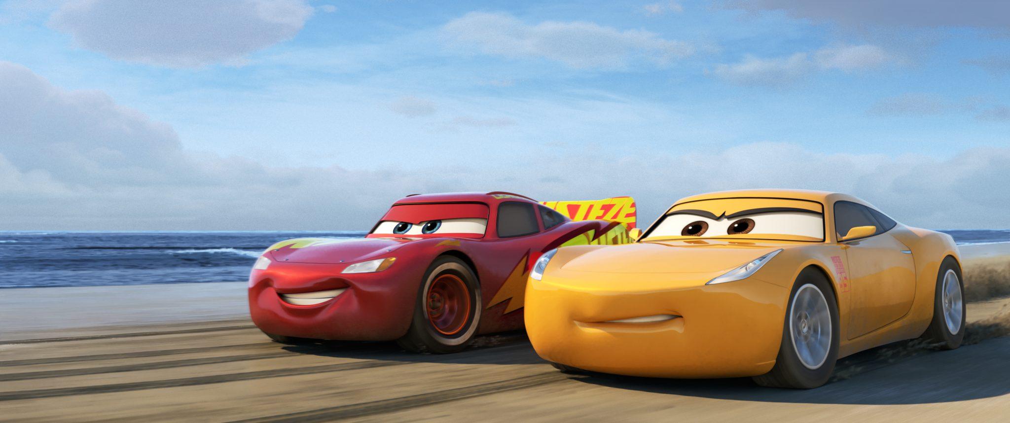 انیمیشن Cars 3 کاری از کمپانی والت دیزنی و پیکسار