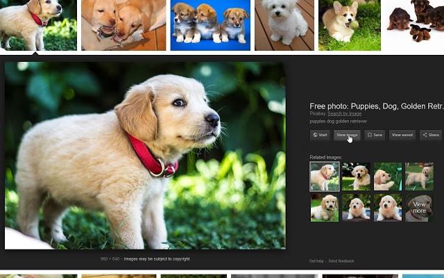 حذف کلید مشاهده تصویر گوگل