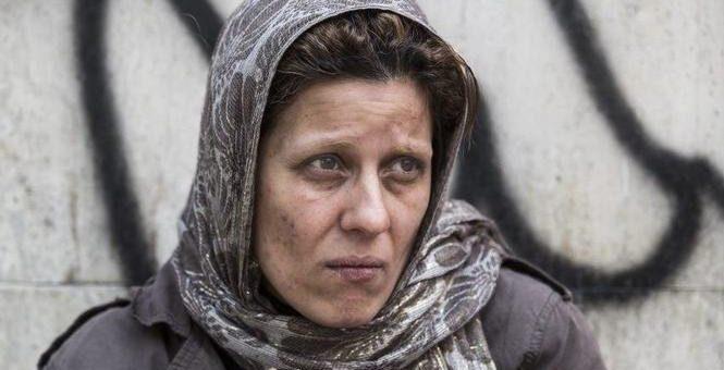 هنرنمایی سارا بهرامی در فیلم دارکوب ساختهی بهروز شعیبی