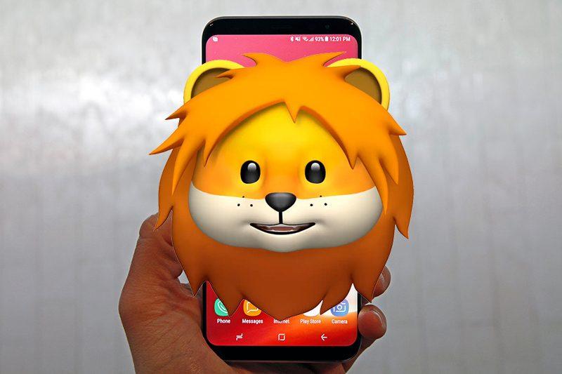 سامسونگ در گلکسی S9 خود از قابلیت Animoji آیفون X استفاده کرده است!