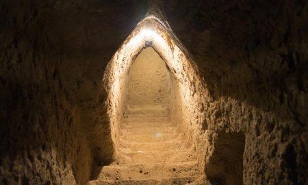 تونل های زیر زمینی شهر