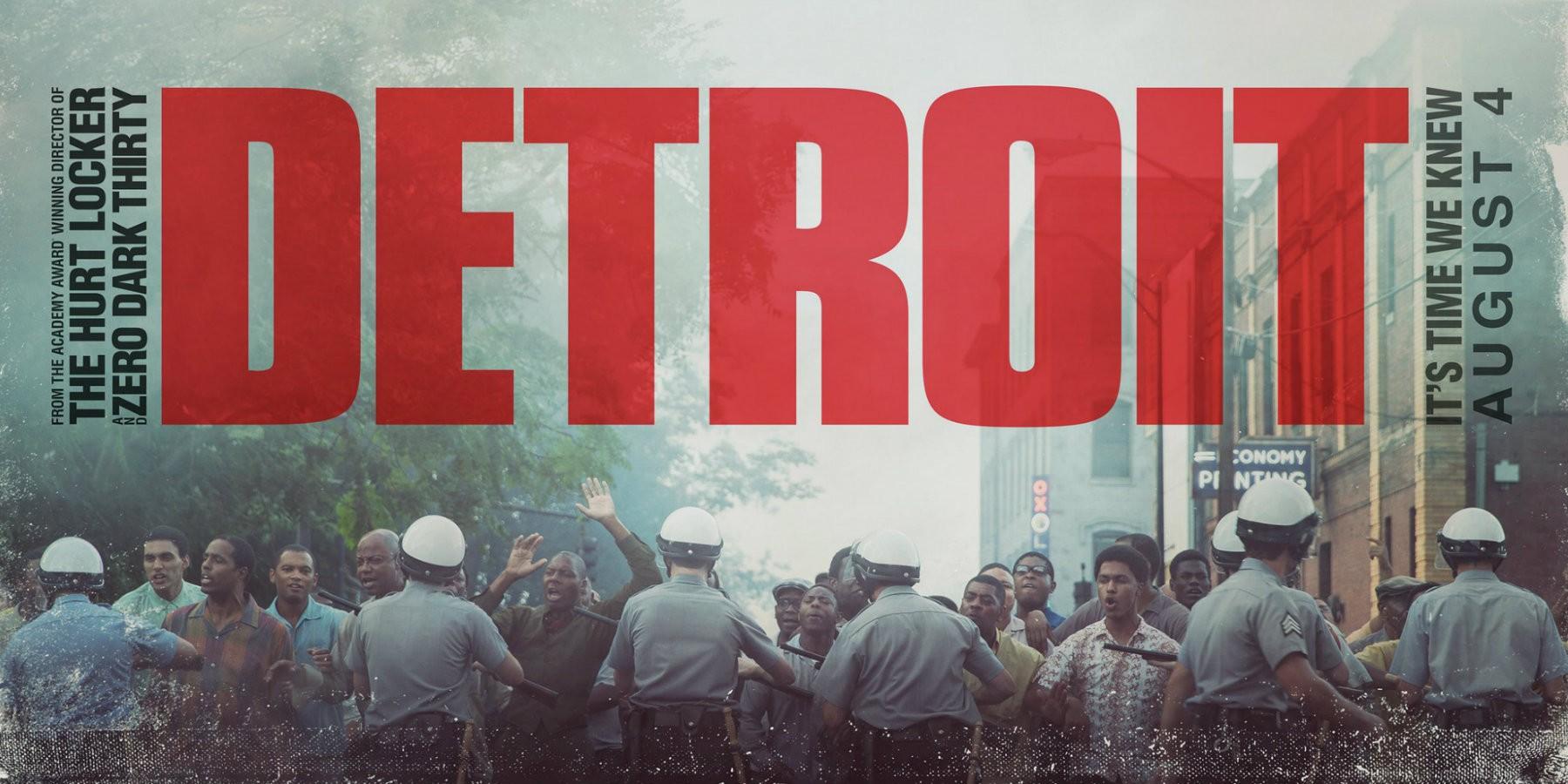 فیلمDetroit دیترویت اثری از کاترین بیگلو Detroit 2017