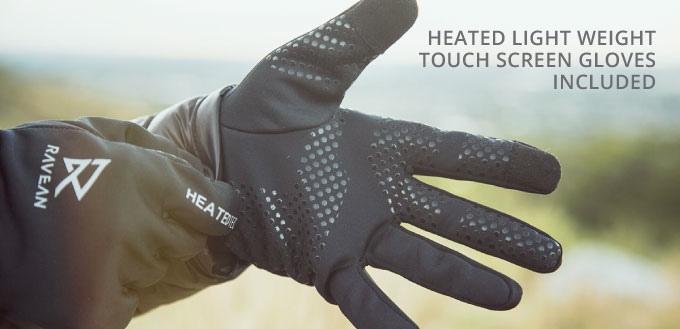 این دستکش ها به کمک باتری تا 6 ساعت برایتان گرما تولید می کنند!!